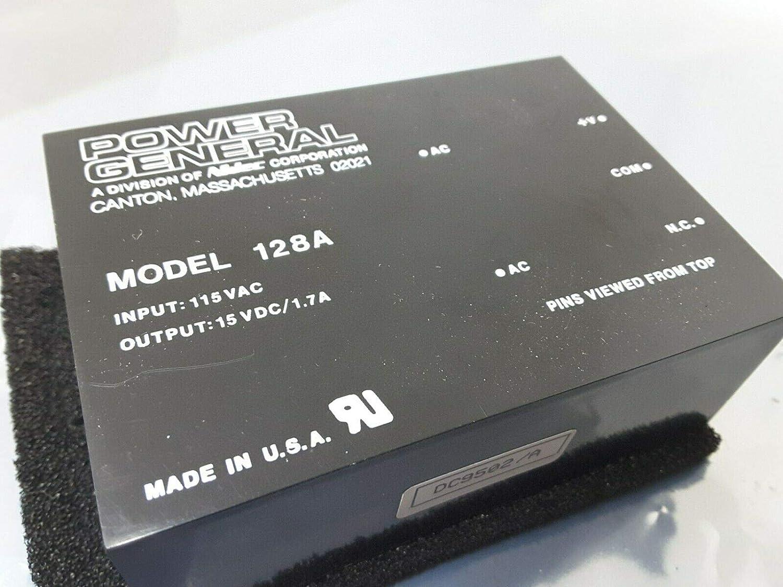 15VDC Module Guaranteed Super Rare Sale New NOS $129 Venture Florida Electronics 128A Power General 115VAC