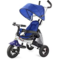Costway 6-in-1 Kids Baby Toddler Stroller Tricycle Learning Bike Ride on Trike Pram Fold