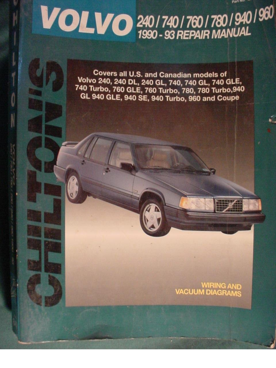 Volvo Saloons, Estates and Coupes, 1990-93 (Chilton's Total Car Care Repair  Manuals): Amazon.co.uk: Chilton Automotive Books, The Nichols/Chilton: ...