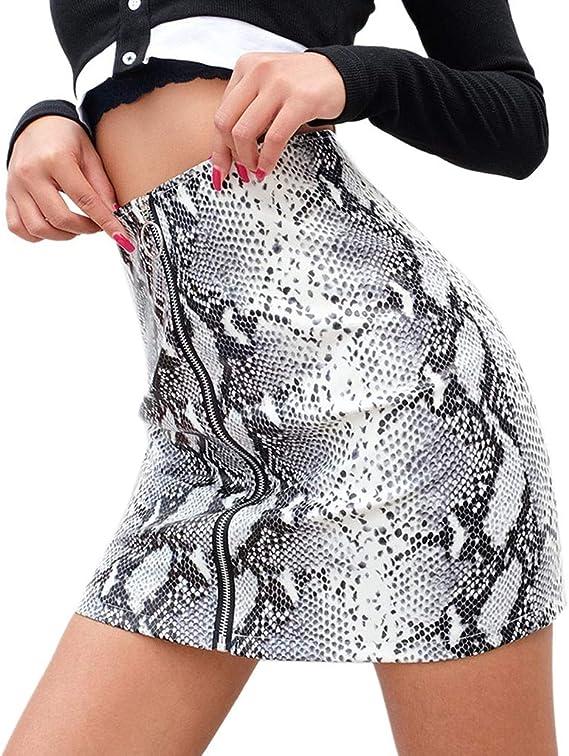 Mujer Vestido Ropa Falda ♡♡Fanny Funny♡ Sexy Serpiente Imprimir ...