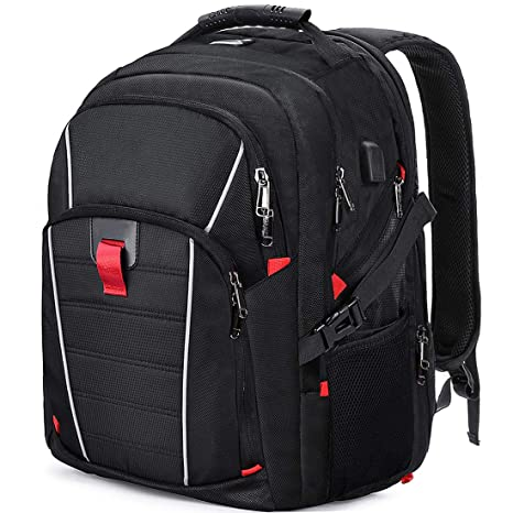 332e49938dbe Laptop Backpack Extra Large Travel College Backpacks for Women Men  Waterproof Business Computer Backpack with USB