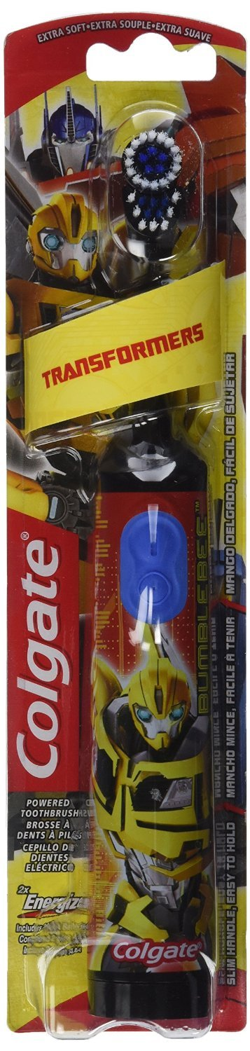 Amazon.com: Colgate Kids Power Toothbrush, Transformers (Colors May Vary), Pack of 3: Beauty