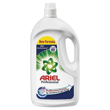 Ariel Professional - Pack de 2 botellas de detergente líquido, 2 x ...