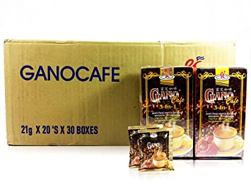 30 BOXES Gano Cafe Ganocefe 3 in 1 Ganoderma Healthy Latte Coffee FREE EXPEDITED SHIPPING 2