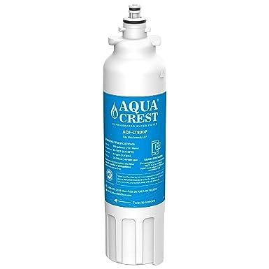 AQUACREST LT800P Filtros de agua para frigorífico, compatible para LG Lt800p, Lt800pc Adq73613401, Adq73613402, Kenmore Elite 46–9490
