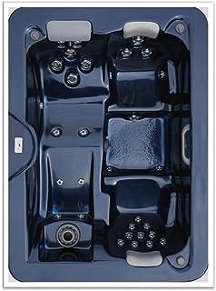 3 person corner hot tub. Home and Garden Spas 3 Person 31 Jet Spa Amazon com  Corner Hot Tub Signature Brand 2 HP