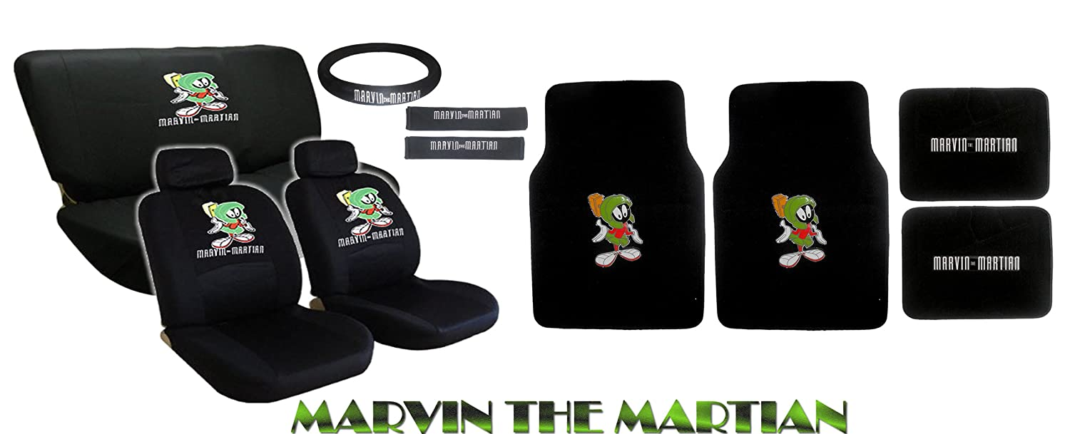amazon com 15pc looney tunes marvin the martian alien back seat