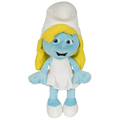 "Movie The Smurfs 13.5"" Plush Figure Doll - Smurfette: Toys & Games"