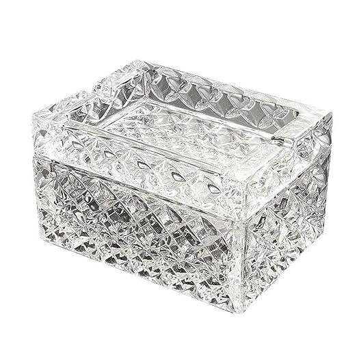 SHYPA Cenicero de Cristal de Cristal de Calidad |Mesa Redonda ...