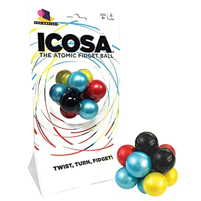 Icosa The Atomic Puzzle Ball: Toys & Games
