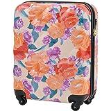 キャリーケース リエンダ オリエンタルプリント スーツケース 軽量 機内持ち込み可 TSAロック rienda ファスナータイプ 4輪 35L 1日 2日用 Sサイズ r03509402【1年保証付】