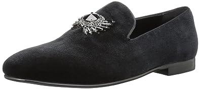 ALDO Mens Hearst Loafer Black Leather 7- ...