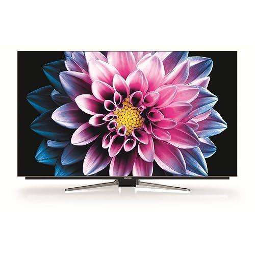 Grundig 55 VLO 9895 BP Smart TV de 55 con control de voz Alexa y tecnología OLED UHD 4K HDR 3480 x 2160 WiFi Quad Core Color Negro