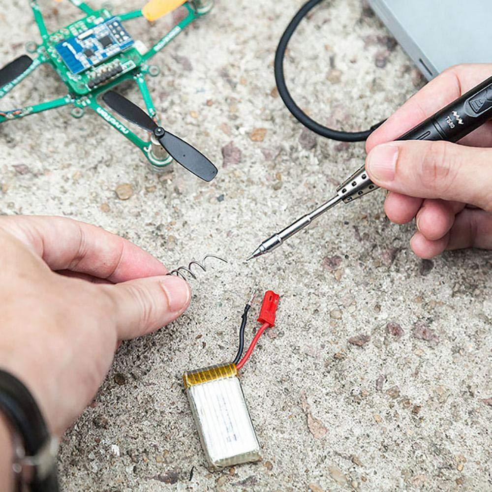 Mini outil de fer /à souder intelligent TS80 outil de soudage intelligent pour le mode Veille automatique et le chauffage rapide