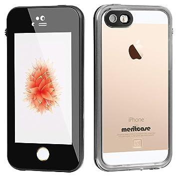 4c301b0d4e Amazon   Merit iPhone SE/5s/5 完全防水ケース iphone 5S防水ケース ...