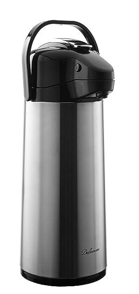 Bellemain 2,2 litros, acero inoxidable, aislado al vacío cafetera termo: Amazon.es: Hogar