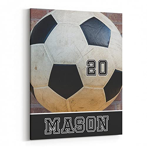 amazon com soccer theme bedroom decor personalized soccer gifts