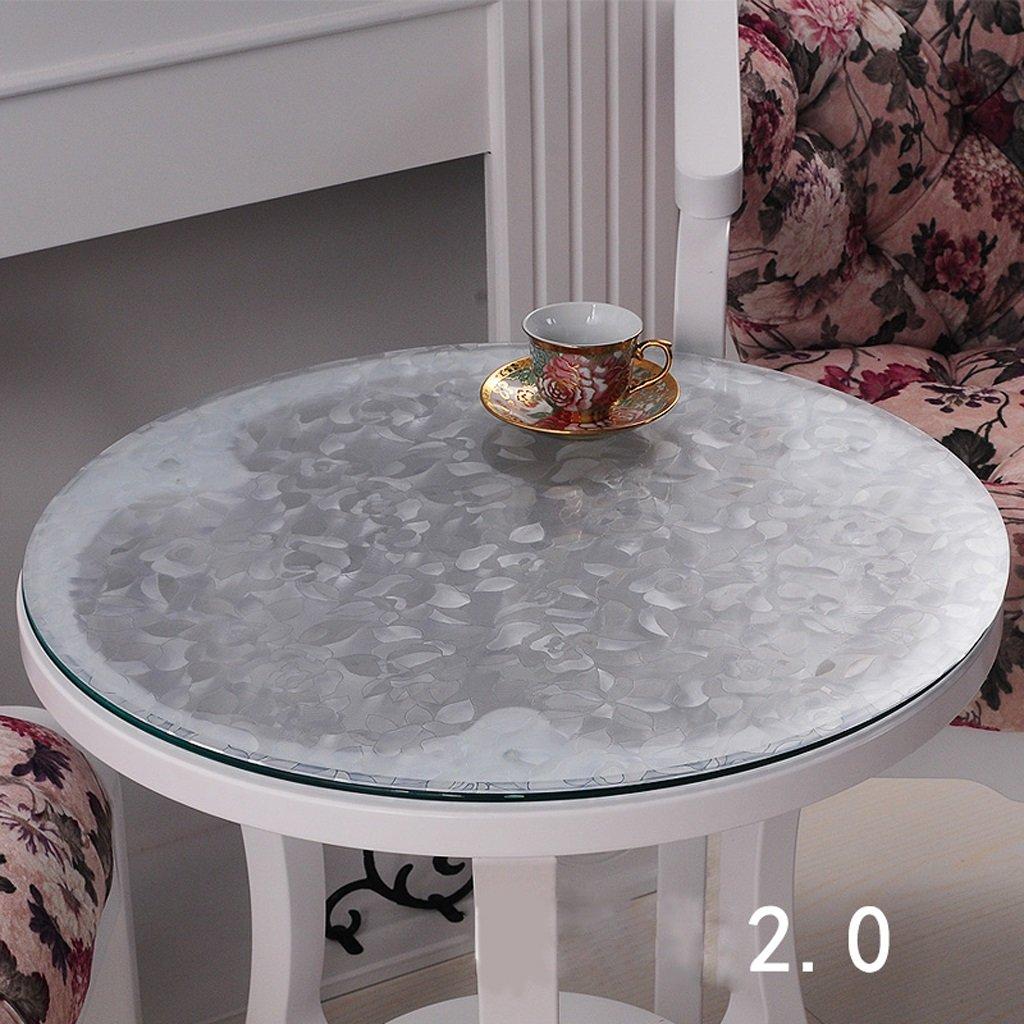 QQ PVC-Tischdecke Waterproof Soft Glass Tischset Tischdecke Crystal Plate (größe   135  135cm) B078W2QS91 Tischdecken Billig ideal | Reichlich Und Pünktliche Lieferung