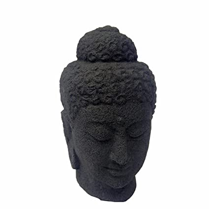Amazon Com Small Buddha Head Sculpture Buddha Head Statue Figurine