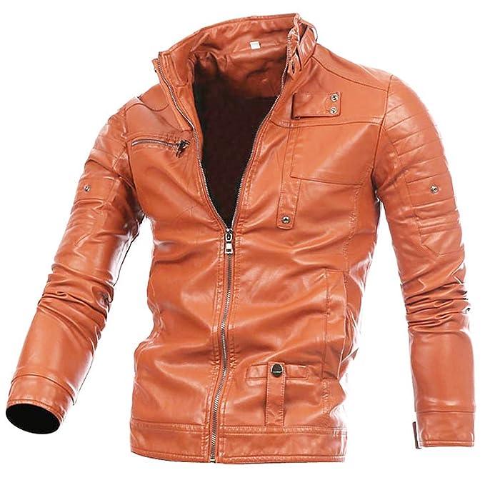 fe1b4604b5f8 Giacca biker da uomo con cintura in vera pelle di mucca o di pelle di pecora