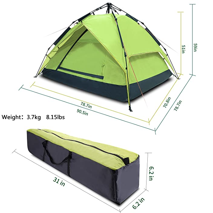Argus Le Automatic C&ing Tent 2-3 Person 4 Season Waterproof Backpacking Tent With Sun  sc 1 st  C&ing u0026 Outdoors Blog & Best Tent: Donu0027t Pitch One until Youu0027ve Finished Reading