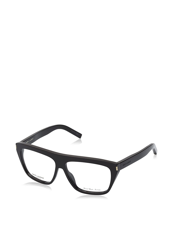 56ac10d8781a Amazon.com: Yves Saint Laurent Sl 3 Eyeglasses-0807 Black-58mm: Clothing