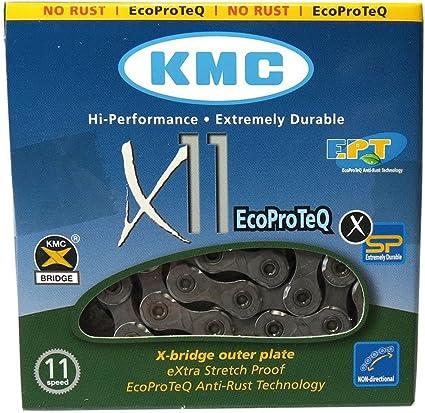 KMC X11e EcoProteQ Anti-Rost 11-fach Kette////118 Glieder