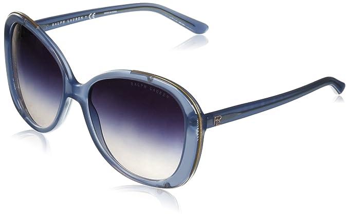 Ralph Lauren 0RL8166 Gafas de sol, Denim Blue, 57 para Mujer ...