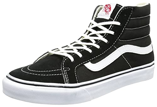 Vans Unisex Sk8-Hi Slim Black True White VN000QG36BT Mens 4.5 ae70e34928