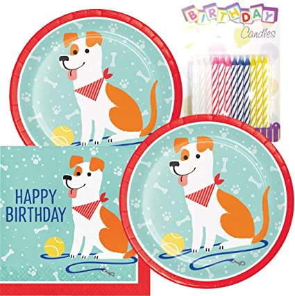 Cats and Dogs Themed Birthday Party Supply Disposable Paper Cups 8 Count Party Planning