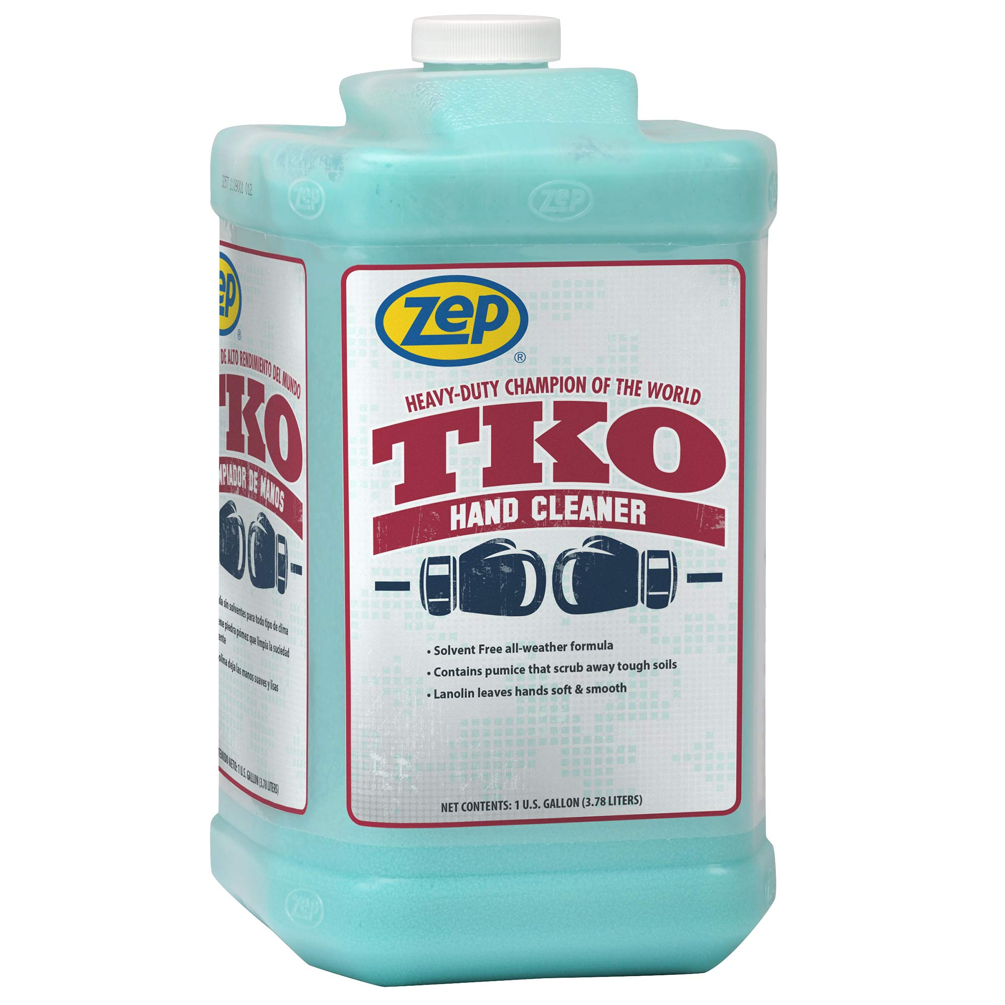 Zep Heavy-Duty TKO Hand Cleaner 128 Ounce R54824