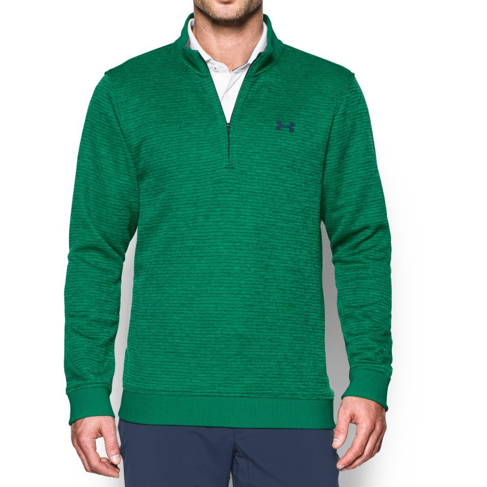 Under Armour Men's Storm SweaterFleece Patterned ¼ Zip,Blade/Academy, XX-Large by Under Armour