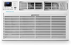 Emerson Quiet Kool 230V 14,000 Smart Through-The-Wall 10,600 BTU Supplemental Heating, EATE14RSD2T Air Conditioner, 14000, WiFi, White