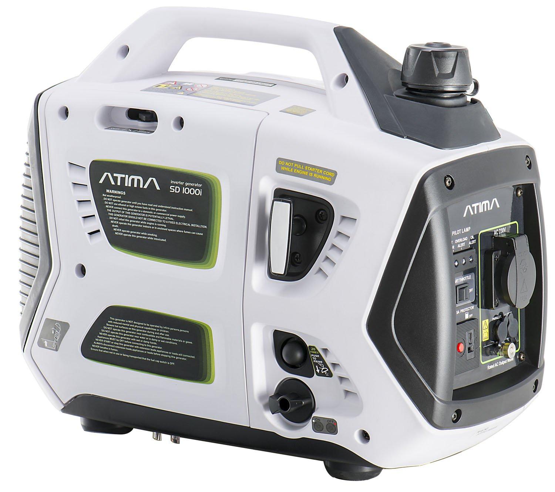 Atima Inverter Generator 1000W Quiet Portable 4 Stroke Petrol