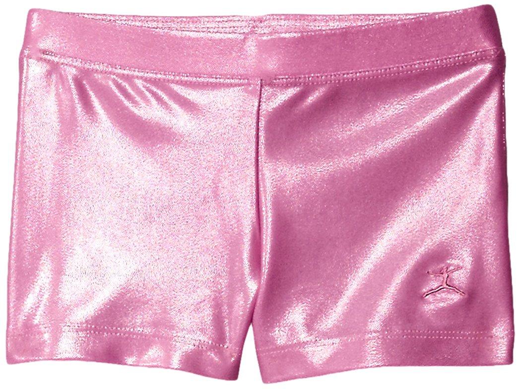 Danskin Little Girls' Gymnastics Basics Short, Pink, Small