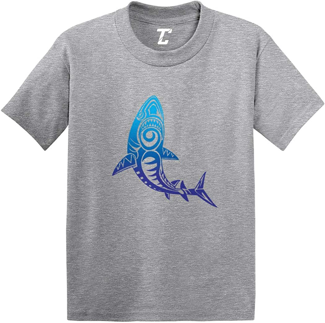 Tribal Shark - Pattern Great White Infant/Toddler Cotton Jersey T-Shirt