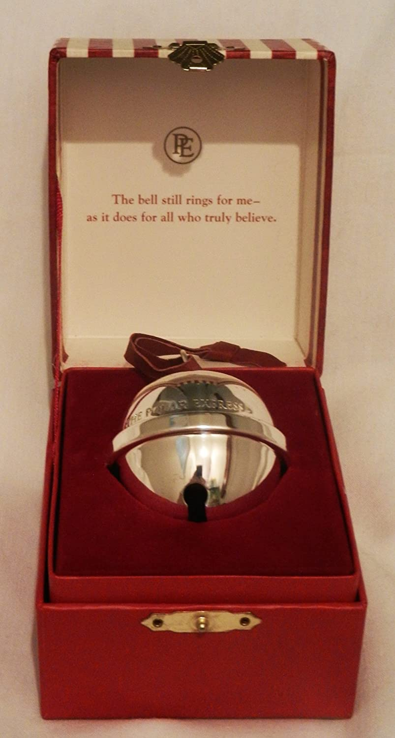 Antique Polar Christmas Sleigh Bell First Gift Express Vintage Christmas Ornament 7L05