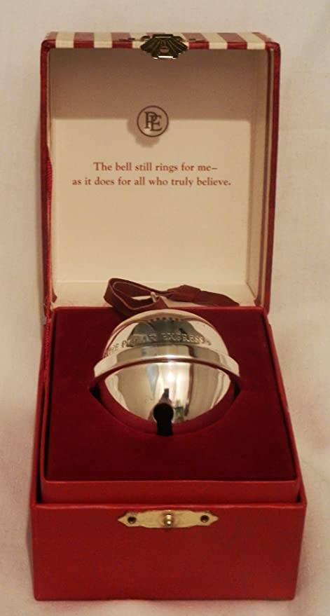 hallmark 2004 the polar express bell ornament the first gift of christmas