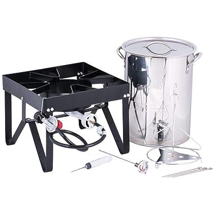 Image Unavailable - Amazon.com : Backyard Pro Weekend Series 30 Qt. Turkey Fryer Kit