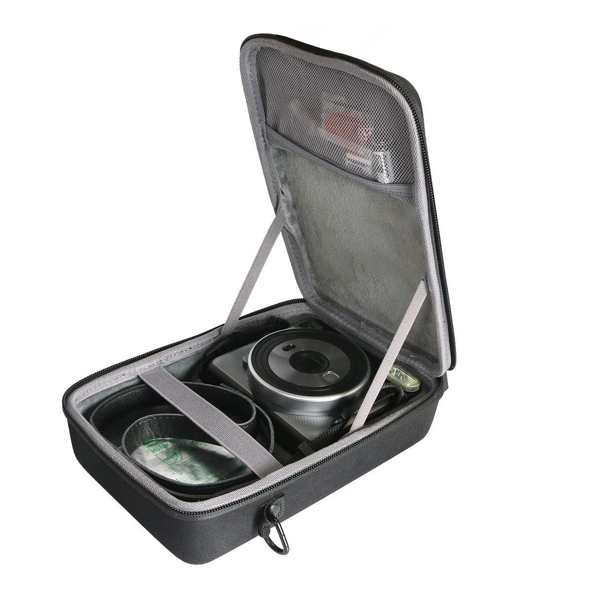 co2crea Hard Travel Case for Fujifilm Instax Square SQ6 Instant Film Camera