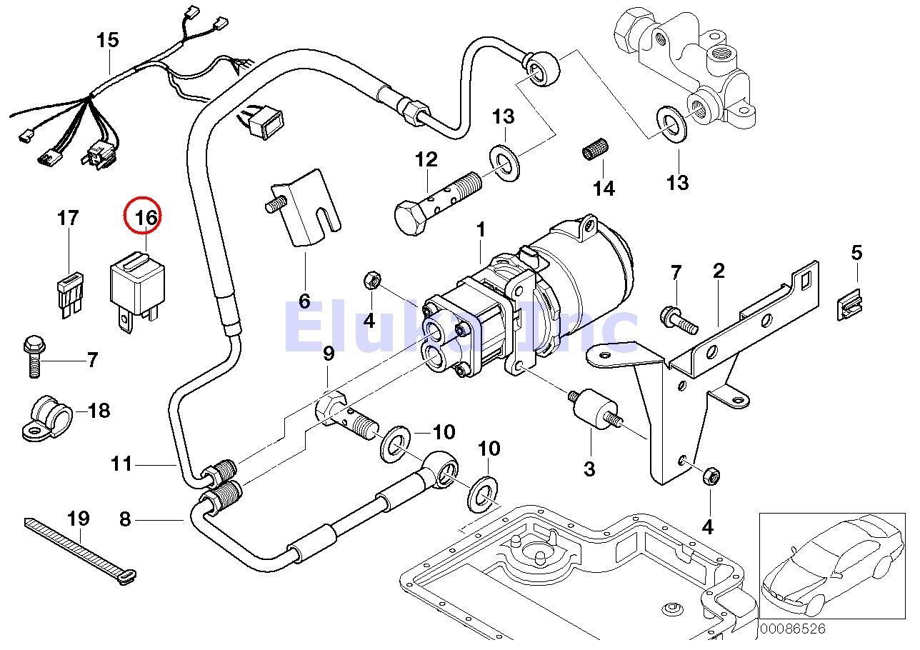 Bmw 525i Fuel Pump Wire Diagram