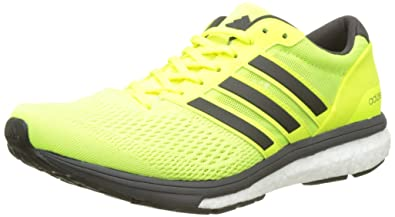 adidas Herren Adizero Boston 6 m Laufschuhe, Gelb (Solar Yellow/Utility  Black F16