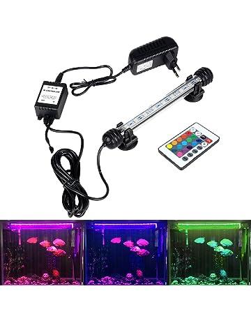 Beleuchtung & Abdeckungen Haustierbedarf Aquariumlampe 15w 220v Unterwasser Beleuchtung Wasserdicht Led Aquarium