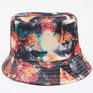 A Gorra de Pescador con sombrilla Playa con protecci/ón UV Sombrero // Gorra con Estampado de Sol