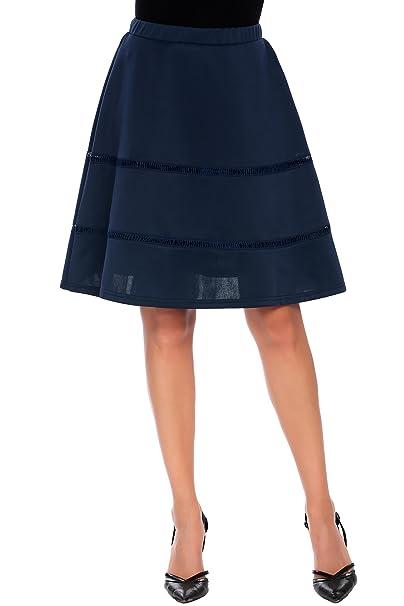 b9062fb4c5 Zeagoo Basic Versatile Flared Skater Skirt Pleated Skirt S/M/L/ XL ...