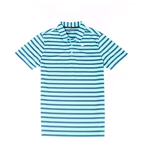 06d5b6f9 Image Unavailable. Image not available for. Color: Nike Golf Victory Mini  Stripe Polo ...