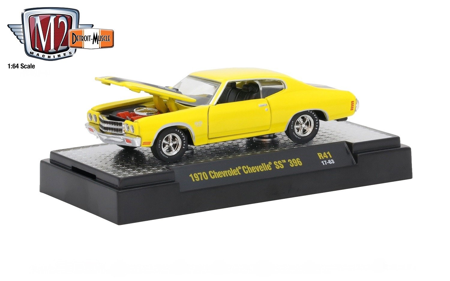 M2 Machines 1970 Chevrolet Chevelle Ss 396 Sunflower Chevy Hello I Have A 64 That Ive Yellow W Black Stripes Detroit Muscle Release 41 2018 Castline Premium Edition 164