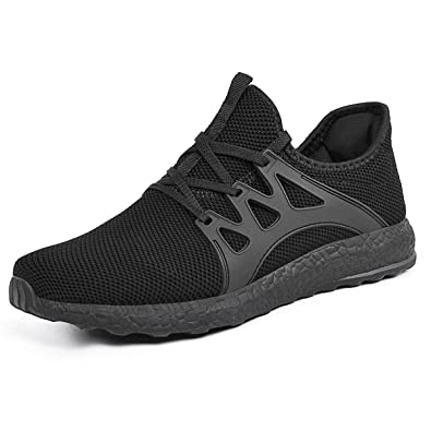 ZOCAVIA Womens Running Shoes Lightweight Breathable Mesh Walking Gym Shoes  Black 5.5 34ebdf2ed