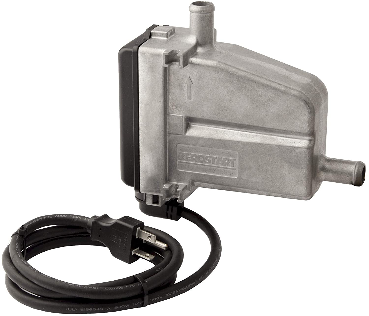 Zerostart 3309043 Circulation Tank Heater for Power Generation, Compressors, Agriculture, 5/8' Diameter Inlet/Outlet | CSA Approved | 120 Volts | 1500 Watts 5/8 Diameter Inlet/Outlet | CSA Approved | 120 Volts | 1500 Watts