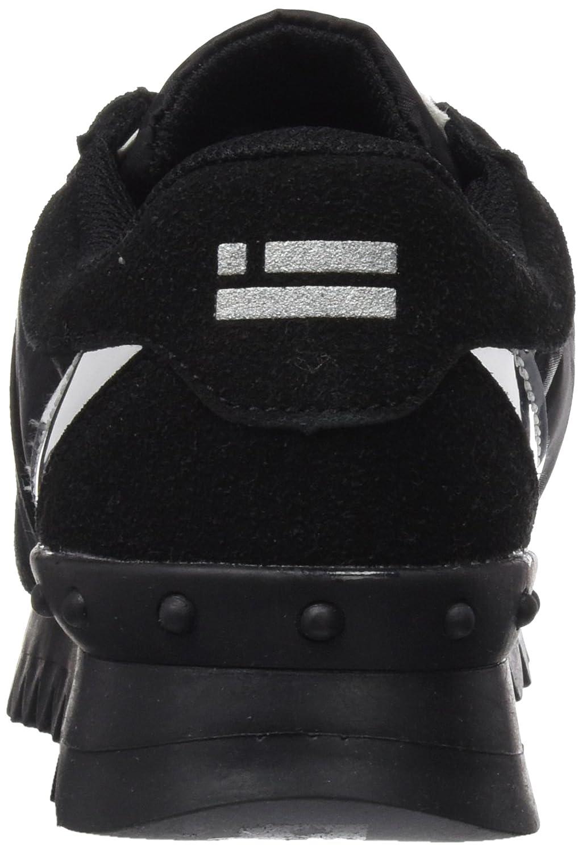 D. Franklin Sneaker Hik19304, Pantofole a Stivaletto Donna, Nero (Negro), 36 EU